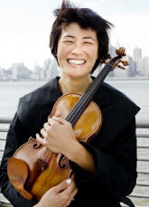 Violinist Jennifer Koh will play the Brahms concerto Saturday at 8 p.m. at Veterans Memorial Auditorium.